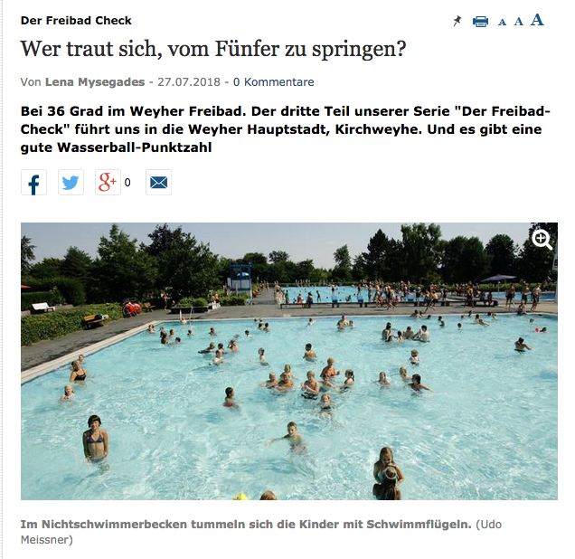 weser kurier freibad check